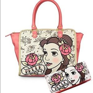 Iso (dont buy) disney loungefly belle tote & walet